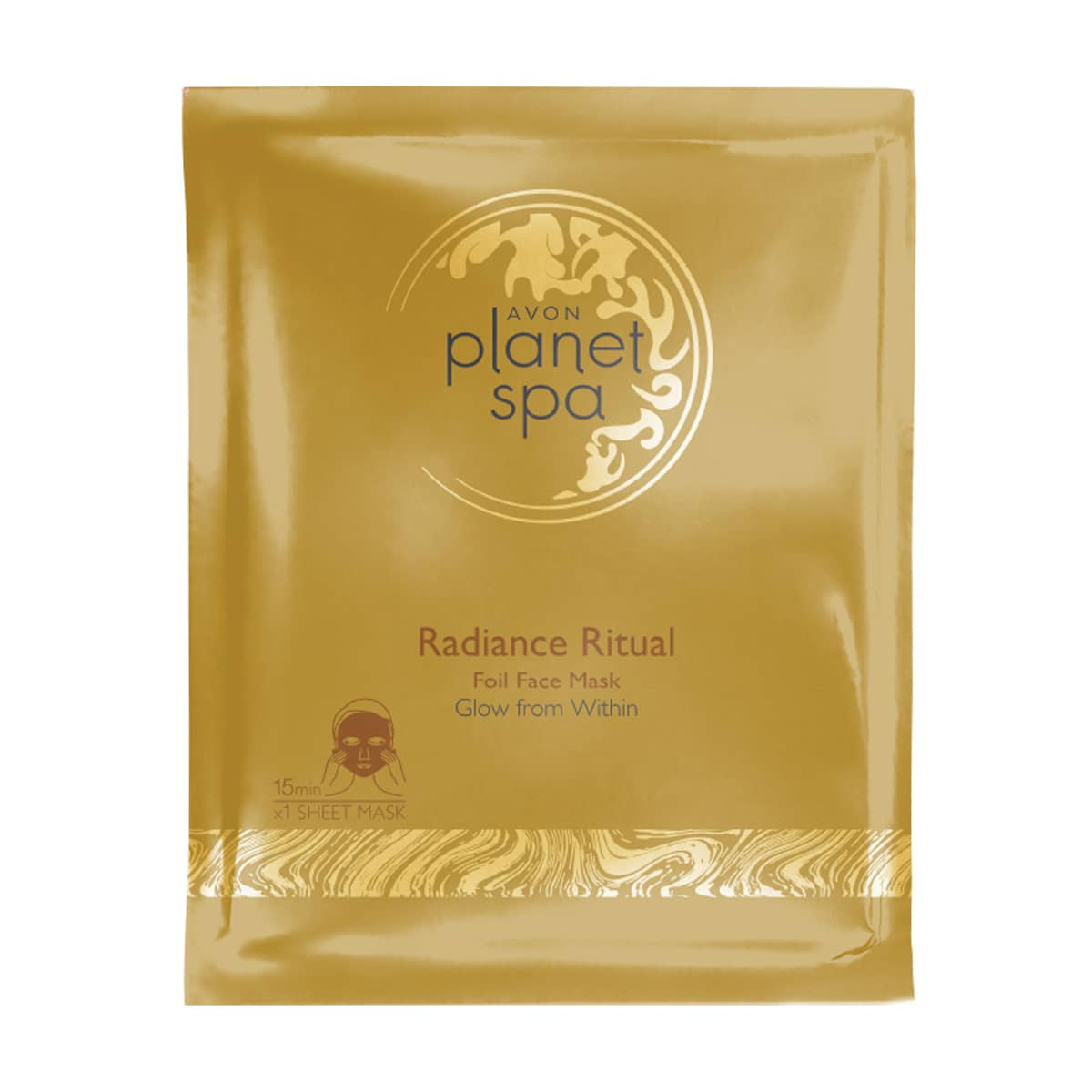 Planet Spa Altın Folyo Maske 1382034 1 piece